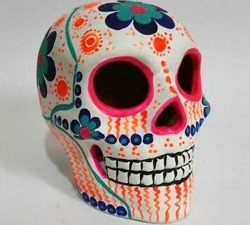 Rumriver Art Clay Sugar Skulls Anoka Halloween Anoka Mn Halloween Capital Of The World