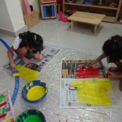 Eco-friendly Art at Anokhi Montessori