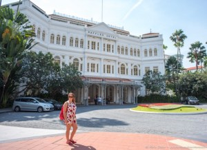 Amy at the Raffles Hotel (1 of 1)
