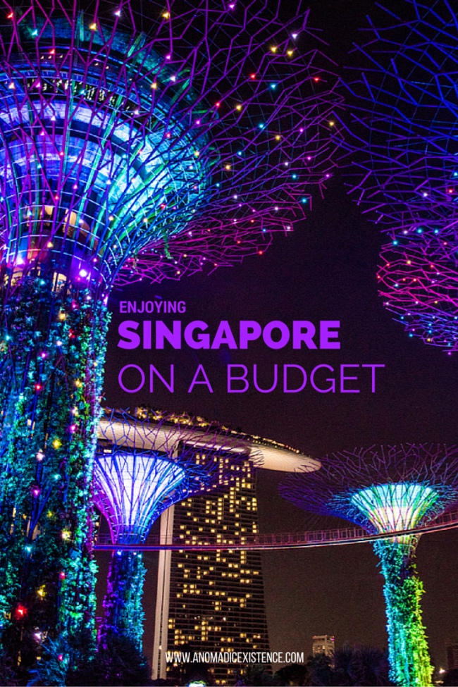 Enjoying Singapore on a Budget