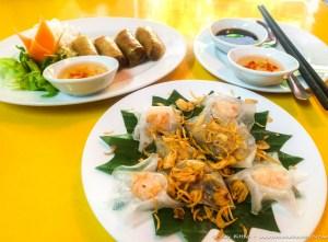 White Rose Dumplings at Mermaid Restaurant, Hoi An (1 of 1)