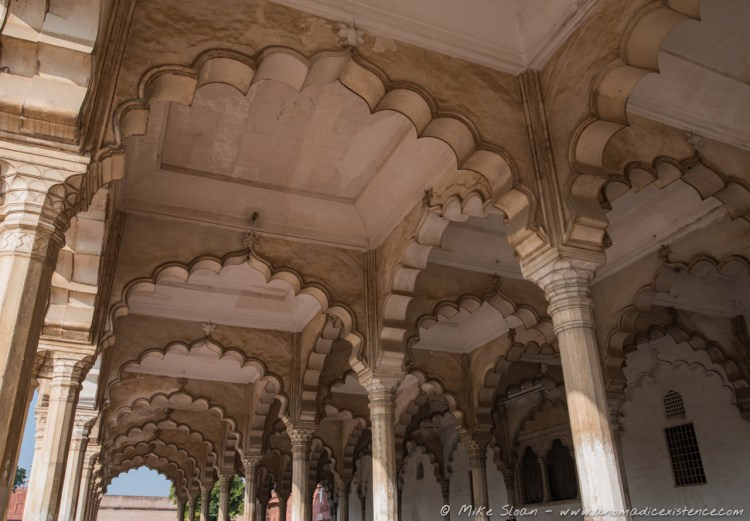 Diwan-i-Am, Hall of Public Audiences, Agra Fort, Agra, Utter Pradesh, India