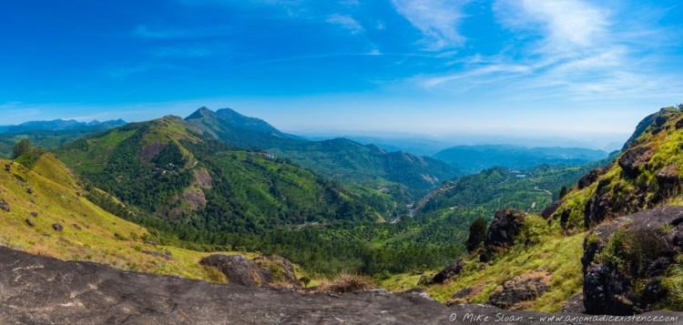 Incredible views over Munnar.