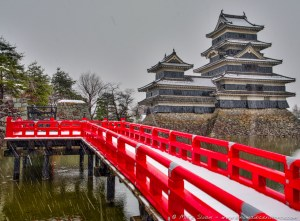 Matsumoto-jo, Crow Castle, Matsumoto Castle, Matsumoto, Japanese Alps, Japan