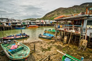 Tai O Fishing Village, Lantau Island, Hong Kong, China