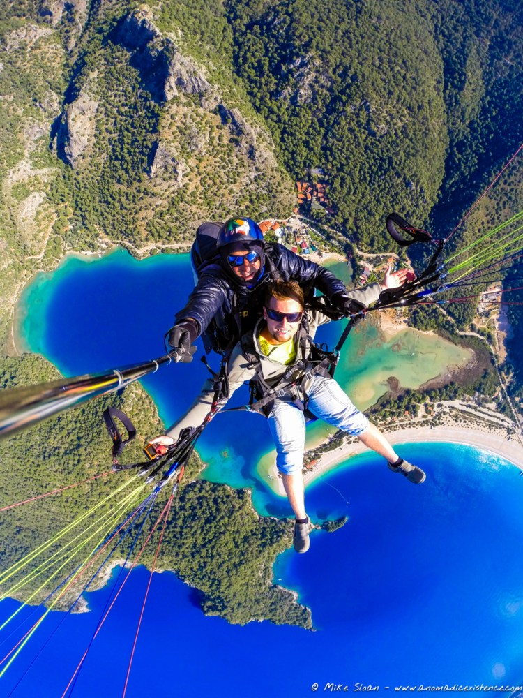 Paragliding in Fethiye, Turkey - mind-blowing!