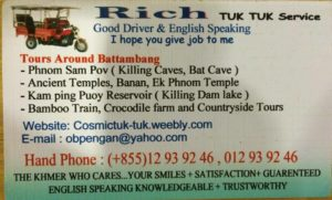 Rich, Business Card