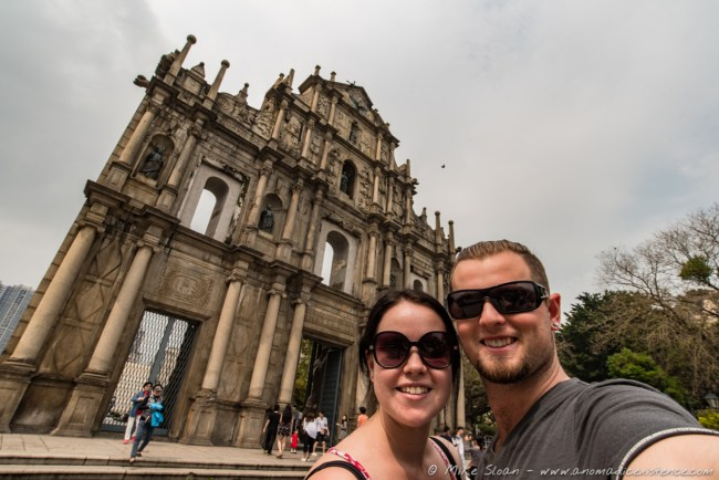 Ruins of St Paul, Cathedral, Macau, China