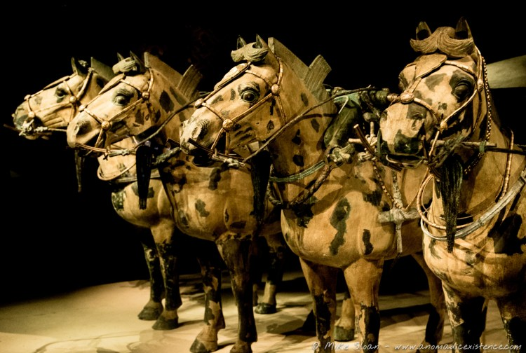 Army of Terracotta Warriors, Xi'an, China