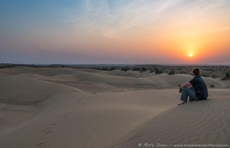 Mike, Thar Desert, Jaisalmer, Rajasthan, India