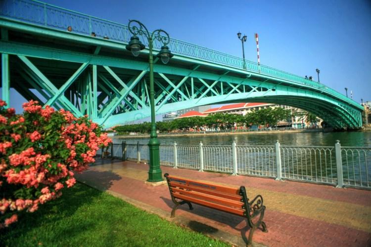 Cau Mong 'Rainbow Bridge' Image via Viet Travel Magazine.