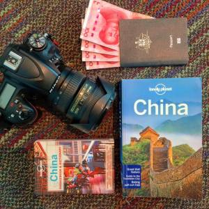 We love our Lonely Planet guides, the phrasebook came in especially handy in China!