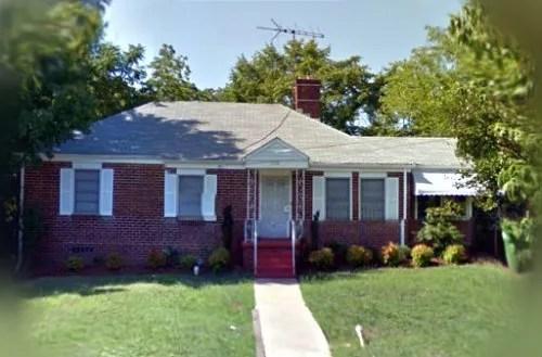 La maison qui a versé du sang.  1114 Fountain Drive