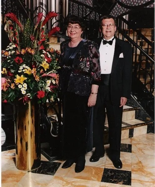 Gerard Sybers et son épouse Elly.