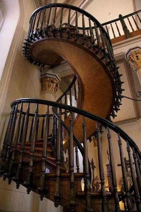 Escalier de la chapelle Loretto