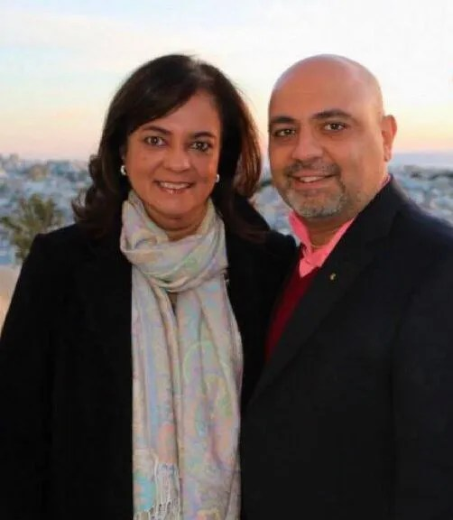 Anita Moorjani et son mari
