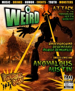 WEIRD Magazine Interviews SMiles Lewis of the Austin Anomaly Archives