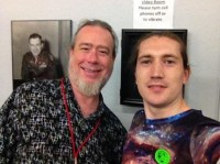 SMiles Lewis and Daniel Jones at Roswell Museum 2017