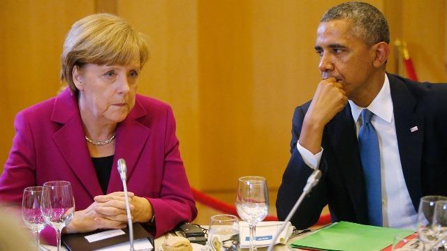Obama-Merkel-G7