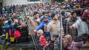 Refugiati Europa gard musulmani