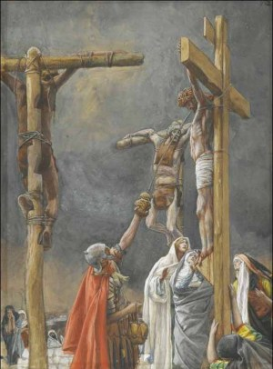 Iisus și ostașii romani »