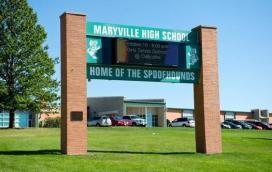 Maryville High School Where Daisy Coleman was a cheerleader