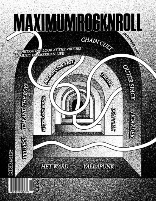 Maximum Rock N Roll October 2018 Cover