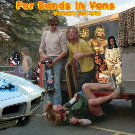 Anon Magazine Mixtape Monday Bands In Vans