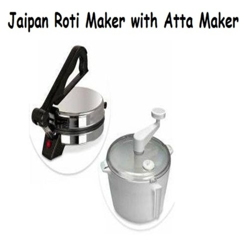 Jaipan Rooti maker with ata maker