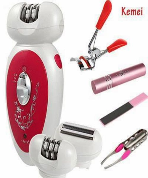 Kemei 5 in 1 Multifunctional epilator & shaver