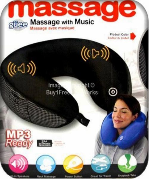 Massage Music Pillow MP3 Speaker