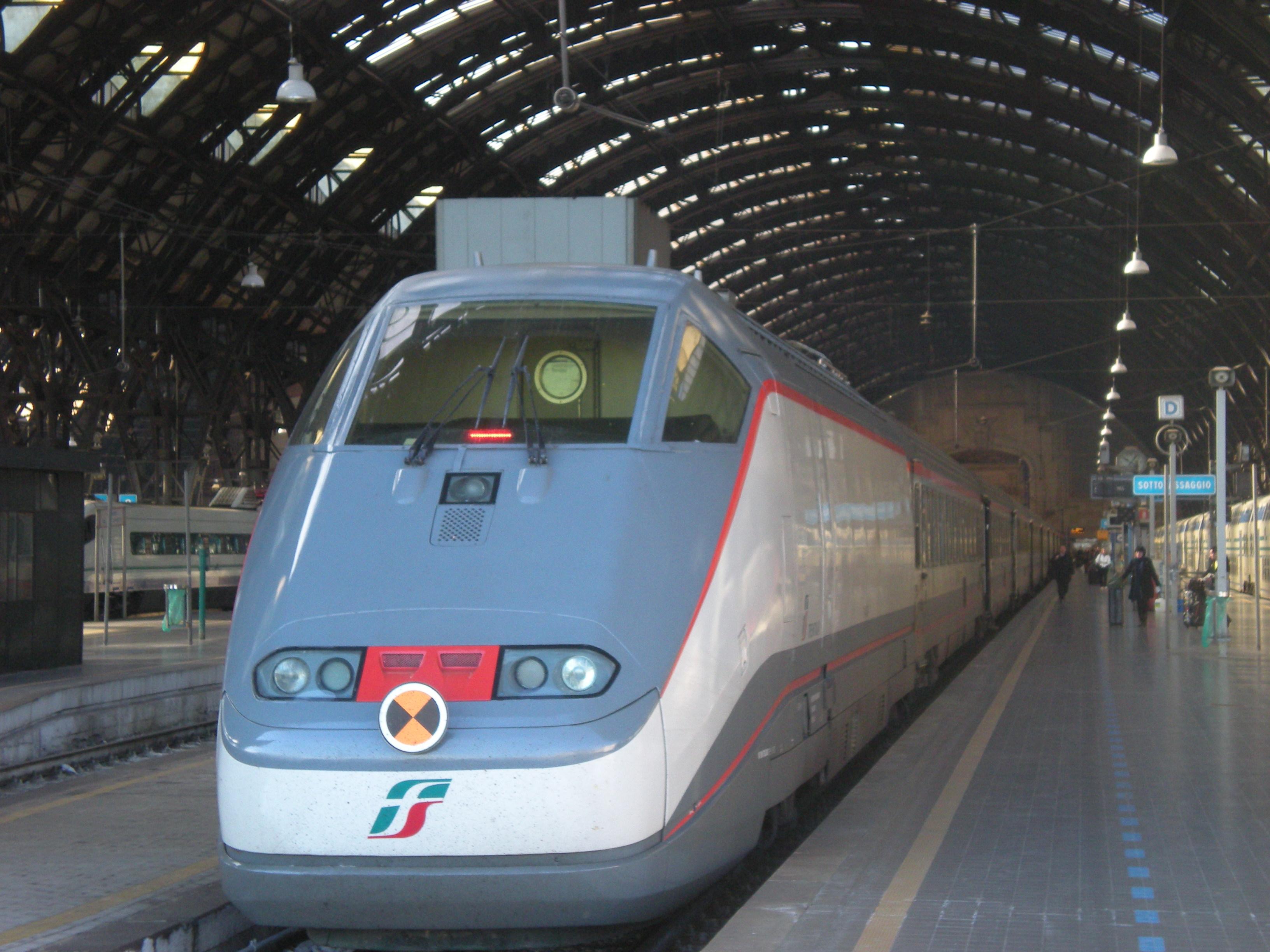 Italian High-Speed Train