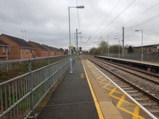 Enfield Lock Station - Note Platform Lengths