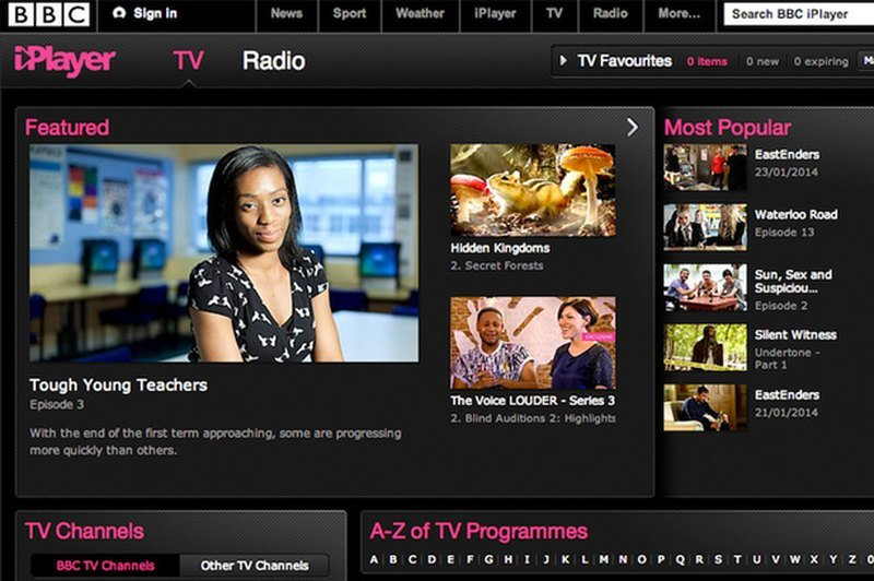 BBC iPlayer supported devices