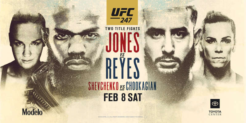 UFC 247 Watch With VPN or Smart DNS