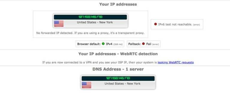 HSS IP leak Test
