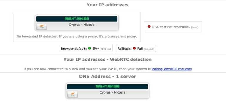 Encrypt.me US-Cyprus IP