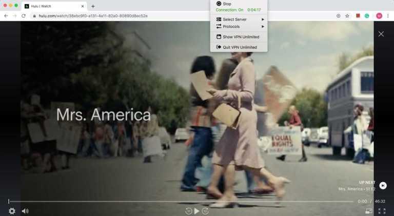 VPN Unlimited Hulu