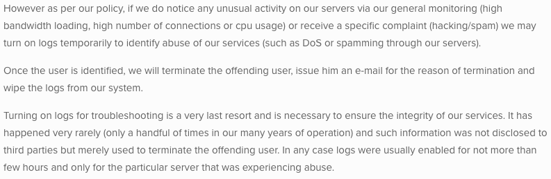 BolehVPN Privacy Policy