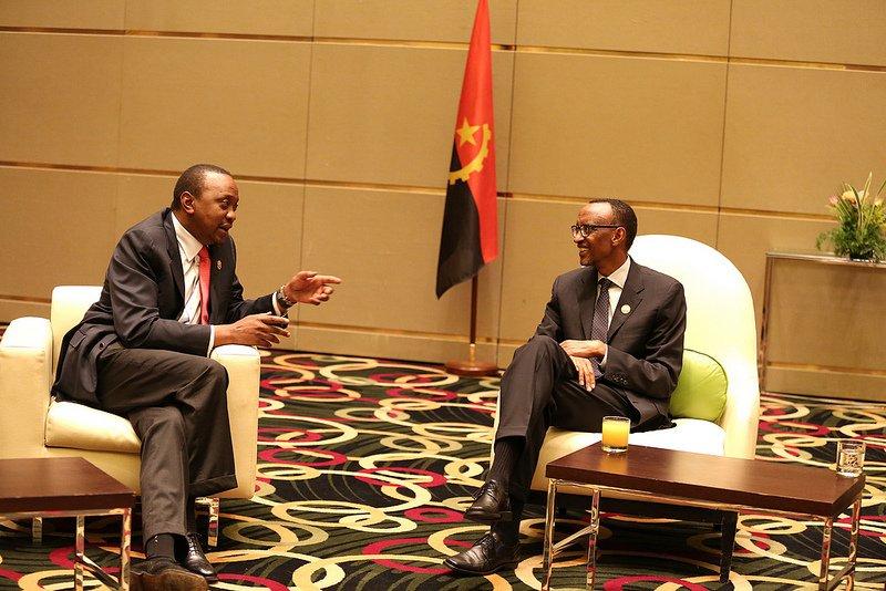 Kagame ntiyaraherutse guca iryera Uhuru Kenyatta