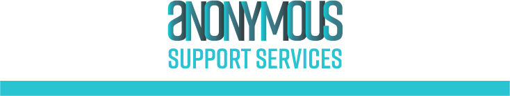 AnonymousSupportServices logo Verslaafd
