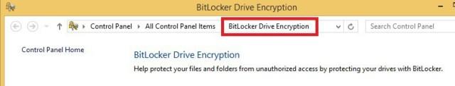 Bit Locker Encryption