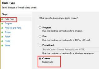 Windows Firewall Rule 9