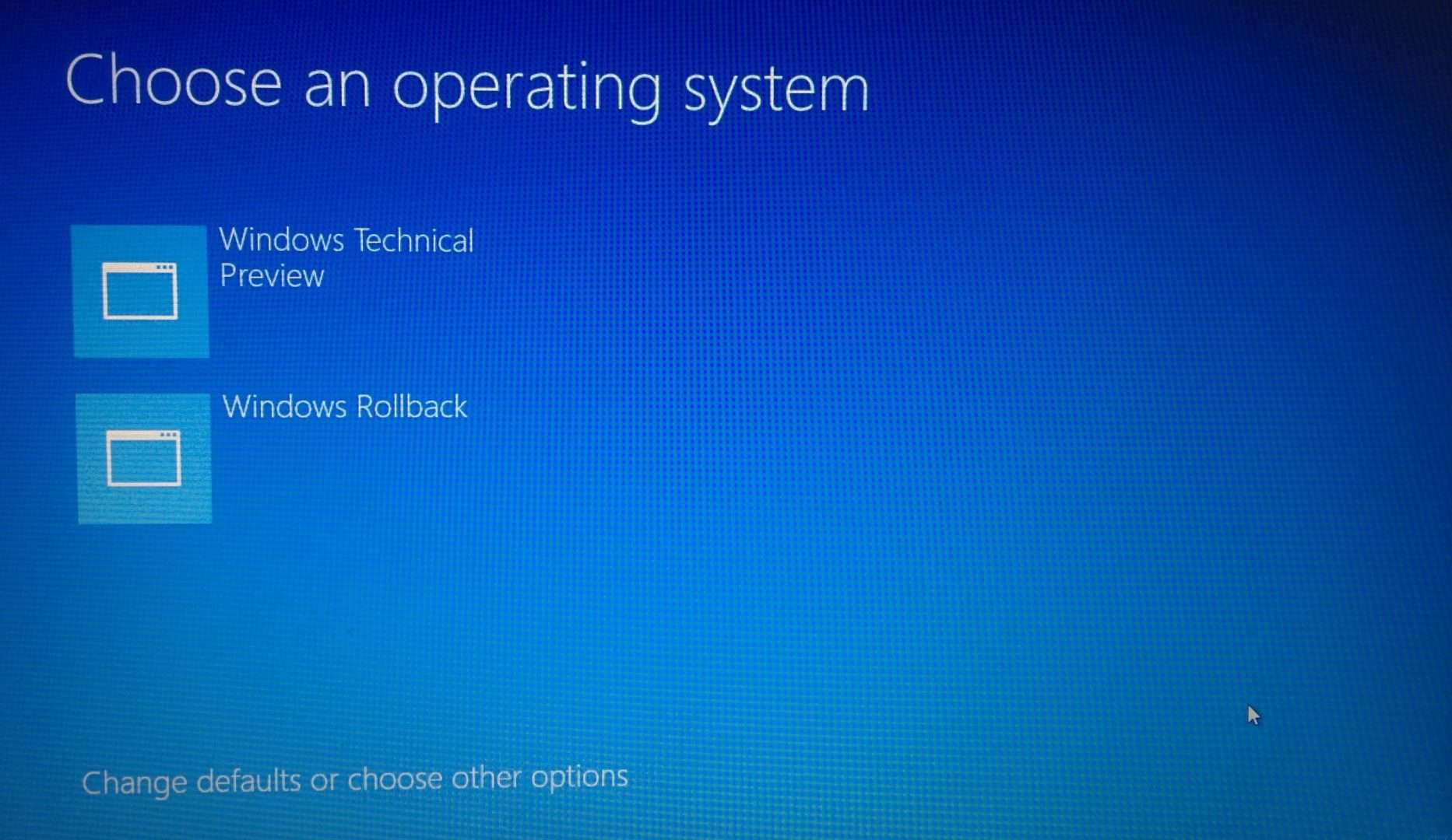 How to uninstall windows 10 and restore previous version for How to choose windows