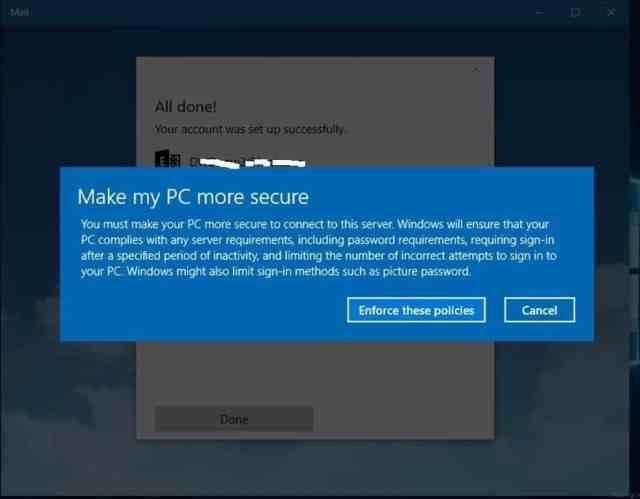 Windows 10-Conditional Access-AAD-MDM-4