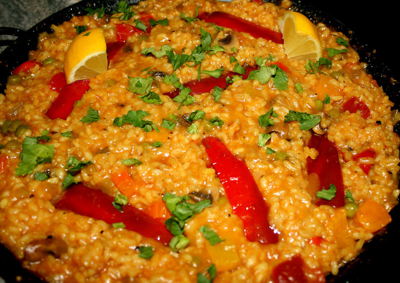Paella Vegetariana!