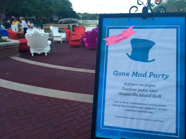 Free Dessert Party Grand Floridian