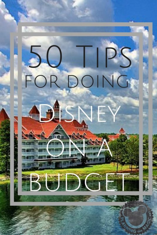 Tips Disney Budget