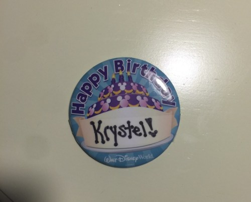 birthday pin