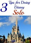 3 Tips for Doing Disney Solo